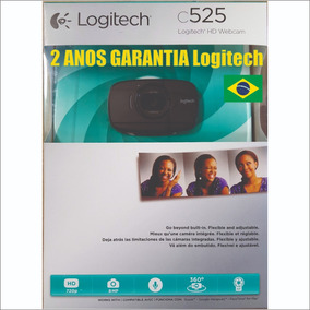 267avista Webcam Logitech C525 720p 360º Dobravel Notebook