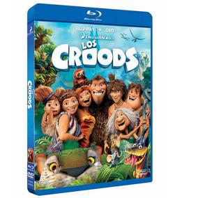 Pelicula Infantil Blu Ray + Dvd Los Croods 3d