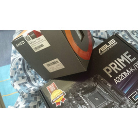 Kit Top Ryzen 7 1700 + A320m-k + 1x8gb Ddr4-3200
