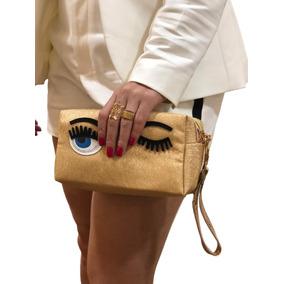 Bolsa Clutch Olho Feminina Com Alça Ref:248