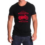 Remera Motocicleta - Estampados Con Onda - Diseño Exclusivo