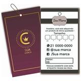 1.000 Etiqueta Roupa Tag Personalizada Promoção