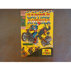 Capitão Z Especial 2 Capitão América Cores 1970 Frete Grátis