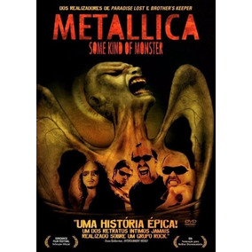 [dvd Duplo] Metallica - Some Kind Of Monster Com Luva
