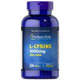 L-lysine 1000mg Lisina L - Lysina 1000mg 250 Tabletas Usa*