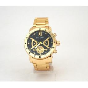 eacaee89f16 Relogio Bvlgari Bulgari Replica Dourado - Relógio Bvlgari Masculino ...