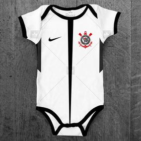 Body Corinthians Infantil Futebol Bebê Personalizado C  Nome. R  49 84 fbe3d94157153