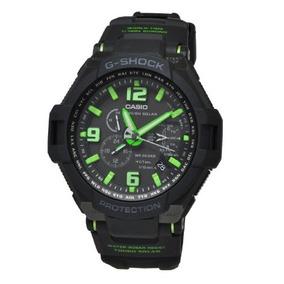 340bf6ec0d7 Casio Aviator Gravity Defier Azul G 1200bd 1a - Relógio Masculino no ...