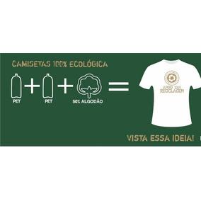Camiseta Lisa Em Malha Pet - Camisetas e Blusas no Mercado Livre Brasil 14798200d2da0
