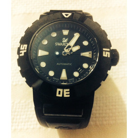 Reloj Automático Swarovski 1124147 Color Negro Para Hombre