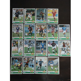 Cards All Star 1991 - Futebol Italiano - Lote Com 18