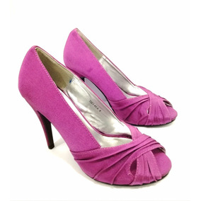 Zapatos Taco Alto Pin Up Talla 38 Mujer Fucsia 0a93f5b05444