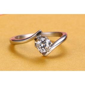 Anel Solitario Prata Diamante - Anel Sem pedra no Mercado Livre Brasil bc6671e111