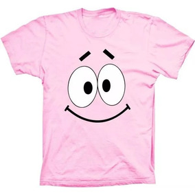 d2fb5e29c Camiseta Bob Esponja Patrick Estrala Mar Desenho Unissex