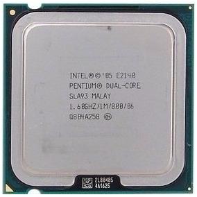 Lote De 5 Processadores Intel E2140 Dual Core 1.60 Mhz