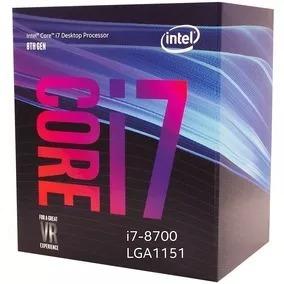 Caixa Vazia Processador Intel I7-8700 Lga1151
