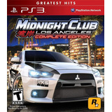 Midnight Club Los Angeles Complete Edition Ps3 (en D3 Gamers
