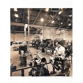 Fotografia Antiga Fabrica Da Dkw Vemag Montagem De Motores