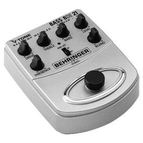 Bdi21 Pedal De Efeito Bass Amp Modelador Behringer Bdi-21