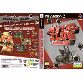 Jogo Coleçao Metal Slug Ps2 6 Jogos Em 1