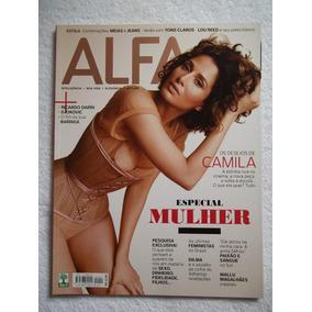 Revista Alfa 14 Out2011 Capa Ela Camila Especial Mulher