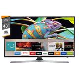 Smart Tv 43 Uhd 4k Q-core Hdmi Samsung Un43mu6100 Novogar