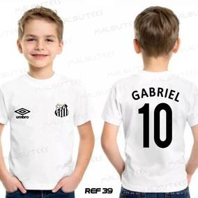 Santos Time - Camisetas e Blusas no Mercado Livre Brasil 758a27563af52