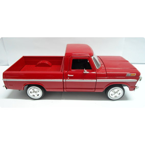 Ford Pick-up Miniatura 1:24 F100 1969