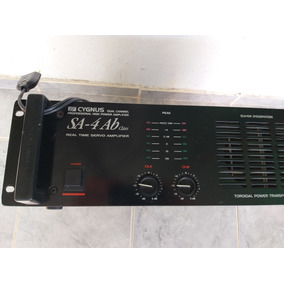 Potencia Amplificador Cygnus Sa4 .machine.advance.unic