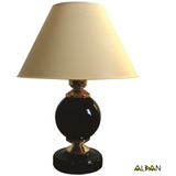 Abajur Clássico Moderno P/ Quarto Ou Escritório - Lamp Preto
