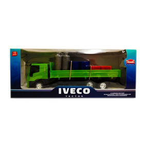 Juguete Para Niños Camion Iveco Cilindros Usual Brinquedos