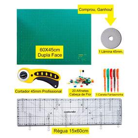 Kit Base De Corte A2 60x45 + Régua 15x60cm O Mais Completo