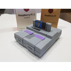 Case Para Raspberry Pi3 Pi 3 Com Cartucho E Local P/ Cooler