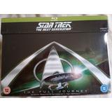 Blu Ray Star Trek Next Generation Coleção Completa 41 Discos