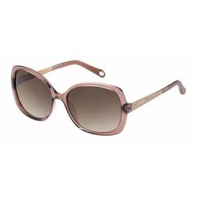 Óculos De Sol Fossil - Original 100% - Preto Degrade 496fd0538a