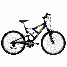 Bicicleta Aro 24 Fullsion Mormaii C/ Suspensão