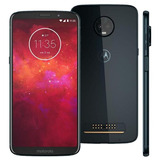 Smartphone Motorola Moto Z3 Play 128gb Indigo