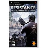 Resistance Retribution Juego Físico Psp Nuevo Sellado Sony