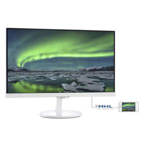 Monitor Led Ips Philips 23 Blanco Hdmi Vga Full Hd 1080p