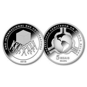 Moeda Comemorativa Ano Internacional Das Cooperativas