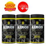 Kit 3 Kiron Diuretico Eliminador De Retencao Iridium Labs