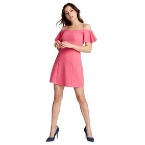 Vestido Fiusha Para Dama Of Shoulder.