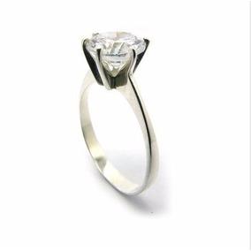 Anel Solitario De Prata 950 Zirconia 10mm Pedra Quadrada - Joias e ... dec3a3035b