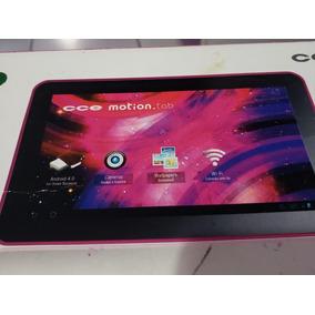 Tablet Cce Tr91 9 Pol Tela Trincada + Acessórios Na Caixa