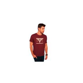 Camiseta Kombi Bordo Masculino