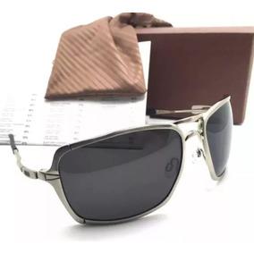 11560f7091026 Oculos Oaklei Inmate Pronta Entrega Polarizado Prata Preto