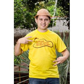 Camisa Personalizada Chove No Chão - Masculina f9d53a79b4133