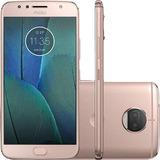 Motorola Moto G5s Plus 32gb/3gb Dual Chip Rose+ Pelicula