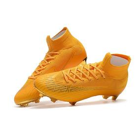 c837f2995c872 Tenis Nike Para Futbol 7 - Tacos y Tenis Nike Dorado de Fútbol en ...