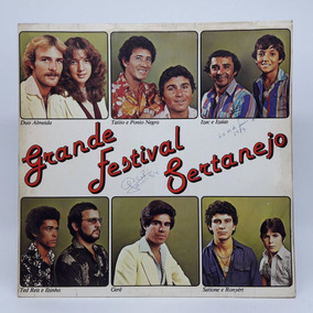 Lp Grande Festival Sertanejo Ted Reis Ilsinho Autógrafo Gerê